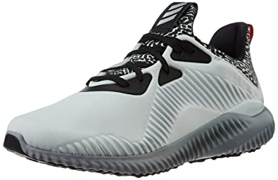 adidas Men's Alphabounce M Clgrey, Msilve and Clgrey Running Shoes - 12 UK/ India