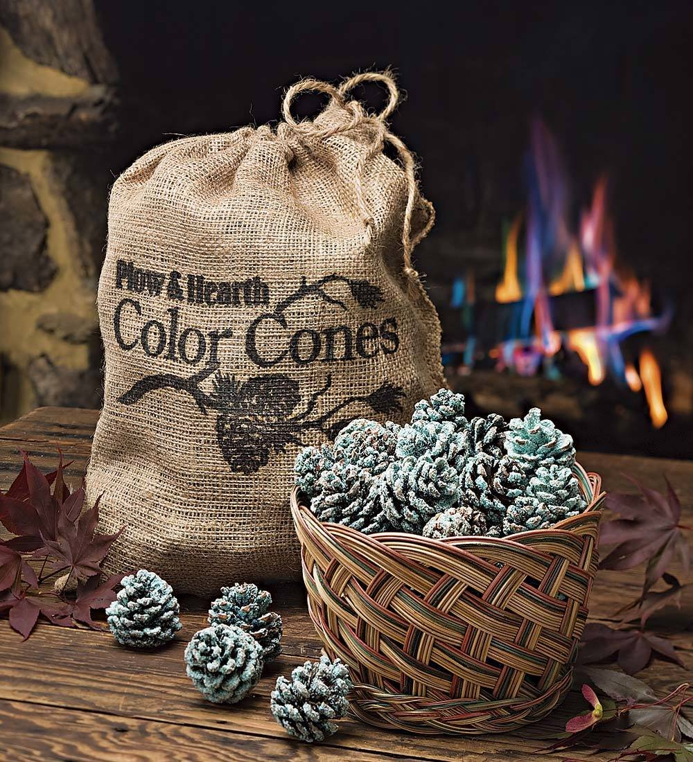 amazon com fireplace color cones festive fun rainbow flame