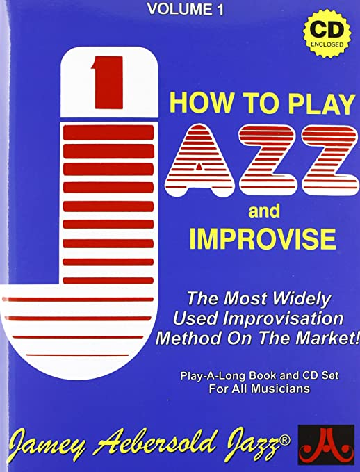 Jamey Aebersold Play A Long Series Vol 1 How To Play Jazz