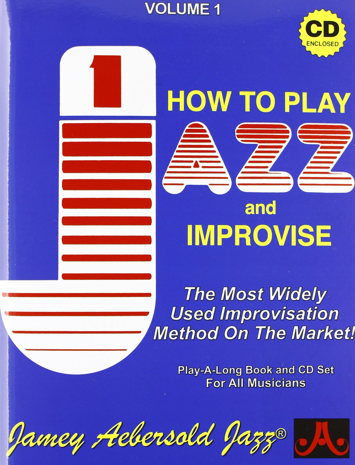 Vol. 1, How To Play Jazz & Improvise (Book & CD Set)