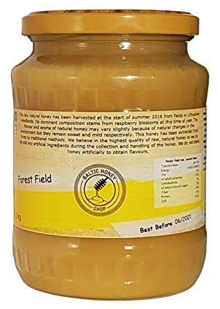Pure Raw Honey 1 kg (Forest Field)