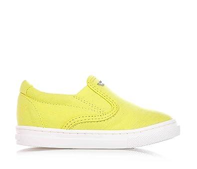 matériau sélectionné capture Clairance de 60% ARMANI - Chaussure jaune sans lacets, en tissu, inserts ...