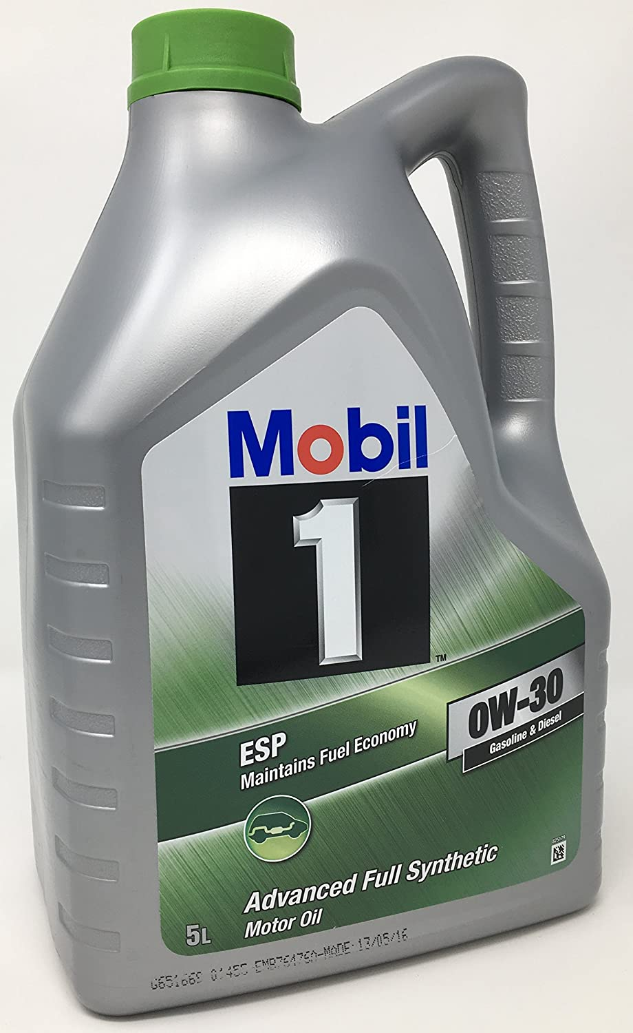 Aceite para motor Mobil 1 ESP 0W-30 Advance Fully Synthetic, 5 litros: Amazon.es: Coche y moto