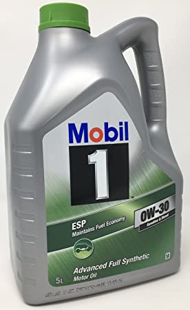 Aceite para motor Mobil 1 ESP 0W-30 Advance Fully Synthetic, 5 litros