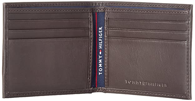 Tommy Hilfiger Harry Mini CC Wallet, Bolsa y Cartera para Hombre, Marrón (Coffee Bean), 2.5x8.5x10.7 cm (W x H x L): Amazon.es: Zapatos y complementos