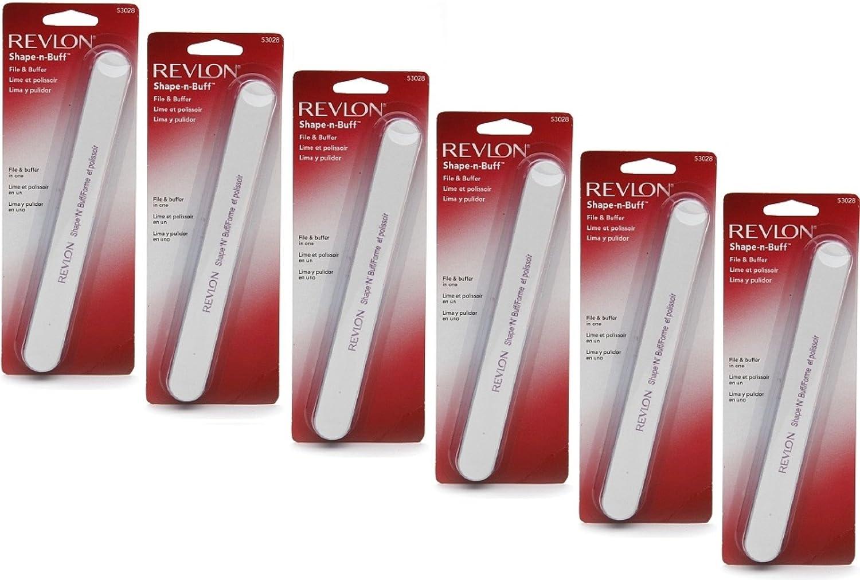 Amazon.com : Revlon Shape \'N\' Buff Nail File 1 ea : Makeup : Beauty