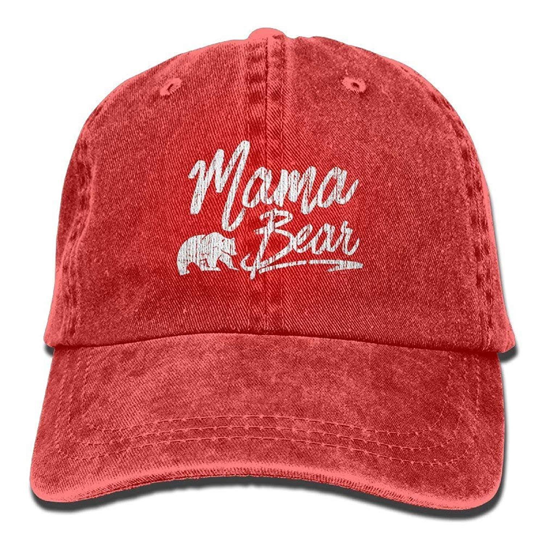 Jimmy P - Gorra de béisbol con diseño de Oso Mama: Amazon.es ...