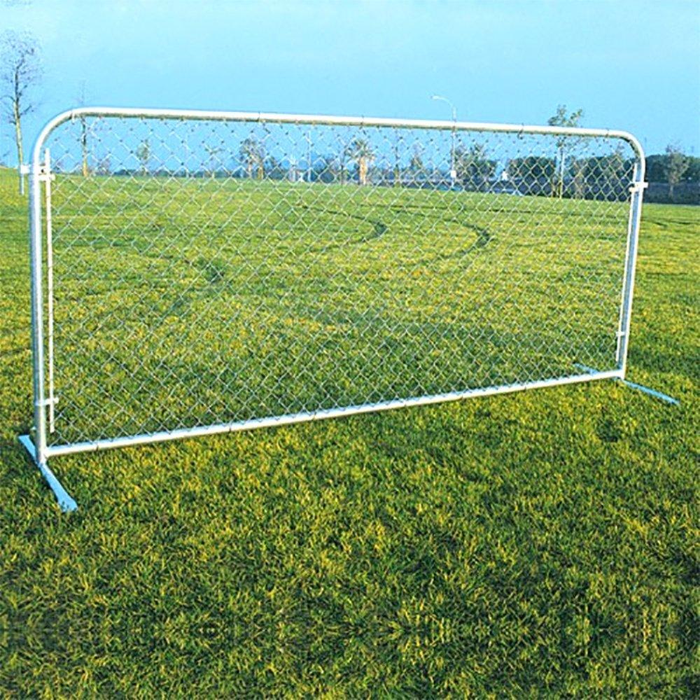 Amazon portable chainlink fence panels home improvement baanklon Image collections