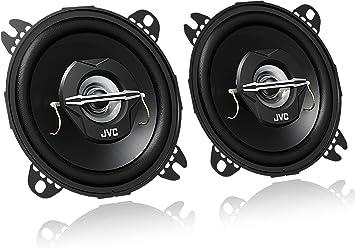 4 Negro , 2 v/ías JVC CS J1720x Altavoces 1 Negro 21 W RMS, 45-22000 Hz, 10cm Altavoces coaxiales para Coche CS-J420X