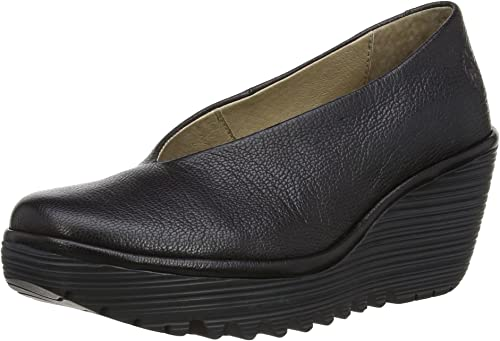 FLY London FLY London Women's Fava T Strap Pump from Amazon   Real Simple