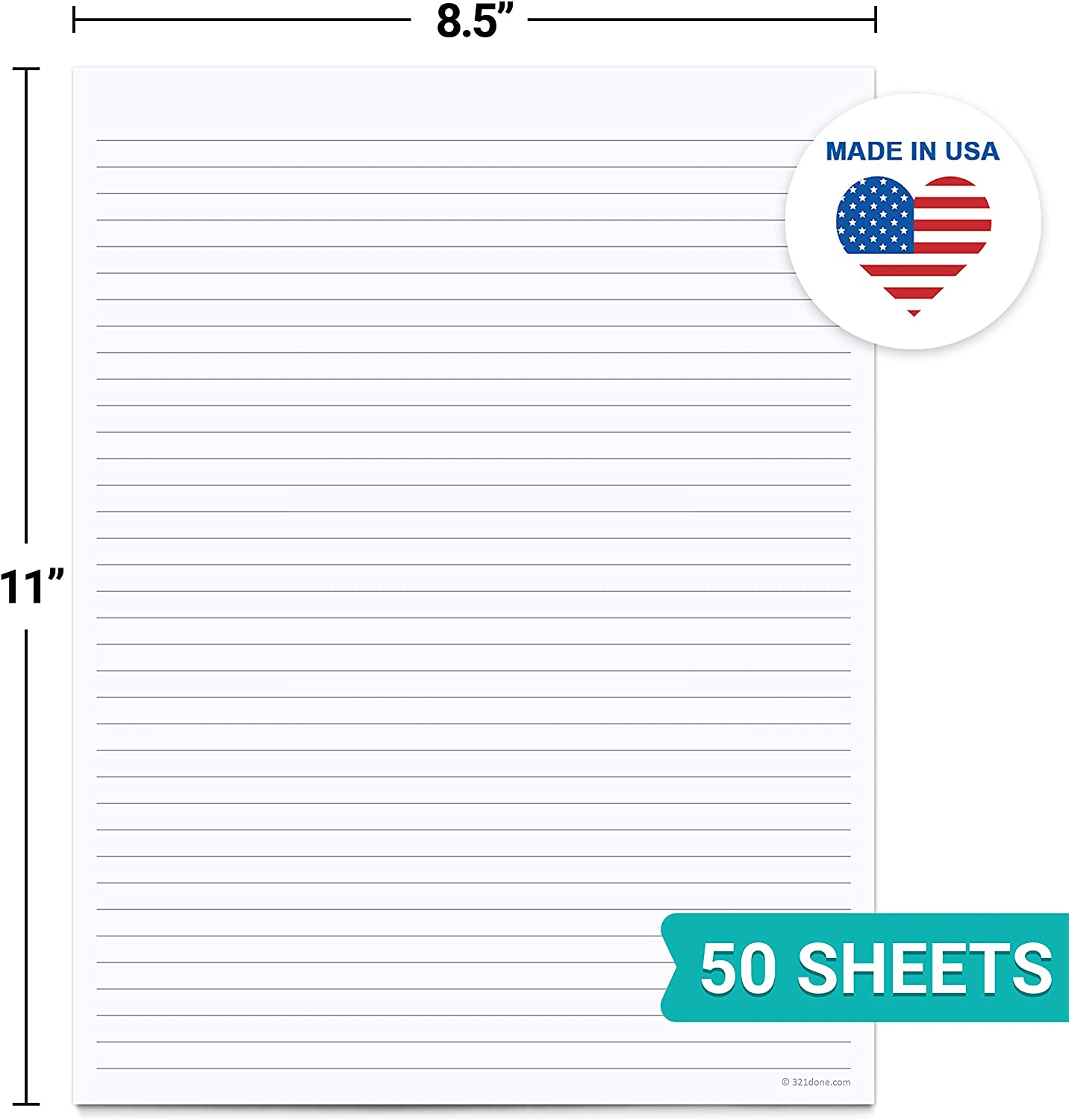 5.5 x 8.5 Blank Notepad 2 pack