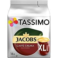 Tassimo Jacobs Caffè Crema Classico 经典奶香咖啡XL, 5 x 16 份