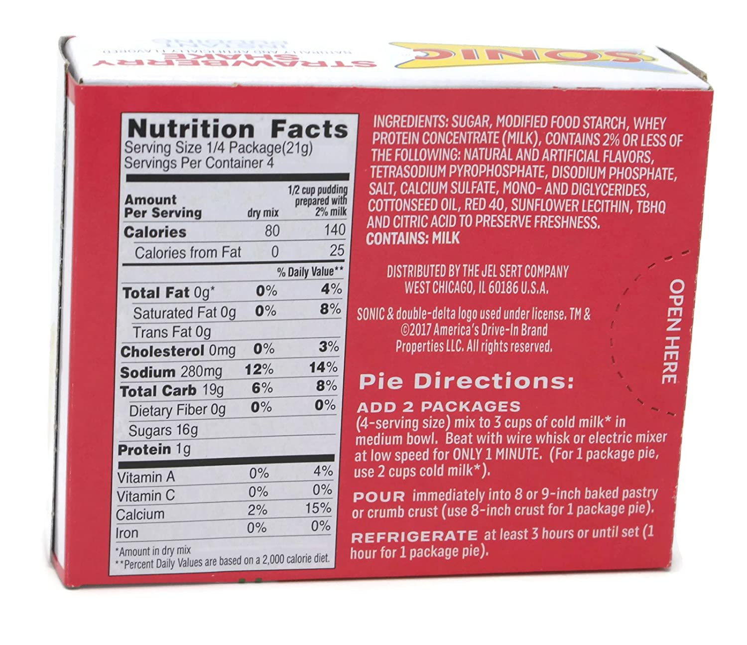 19 Best Of sonic Nutrition Facts Chart