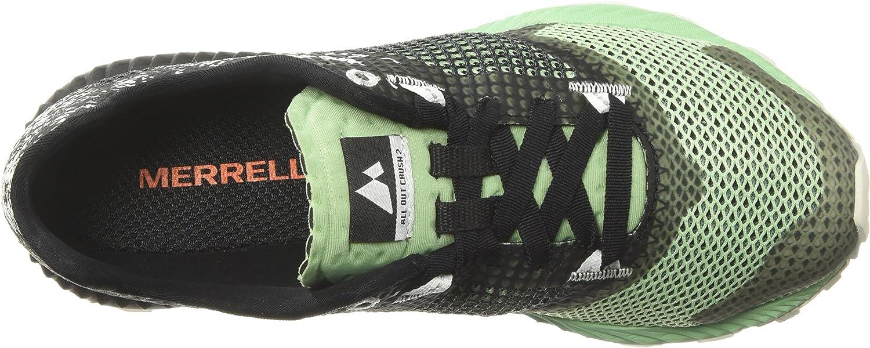 Merrell All Out Crush 2, Chaussures de Trail Femme Noir Black Ash