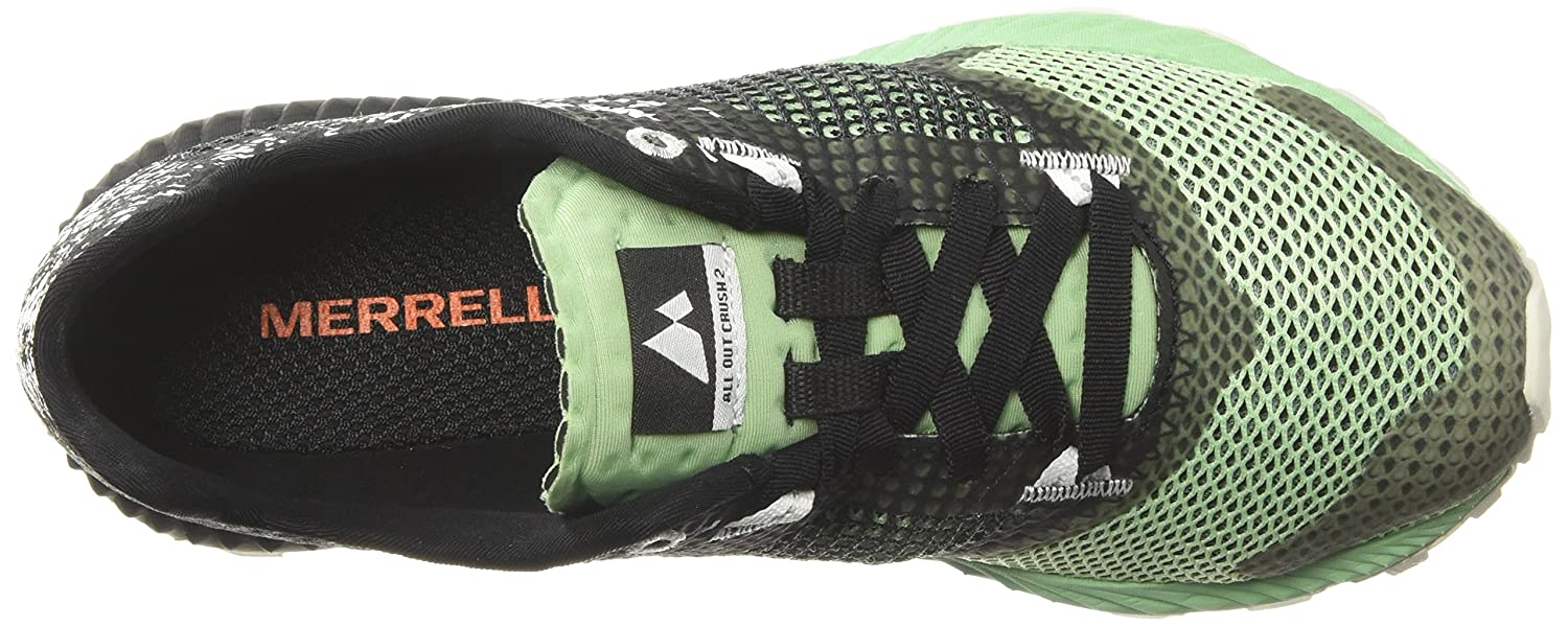 Merrell All out Crush 2, Scarpe Scarpe Scarpe da Trail Running Donna Nero Nero Ash) dc86fd