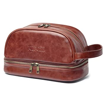 1695936417 Amazon.com   KIPOZI PU Leather Travel Bag