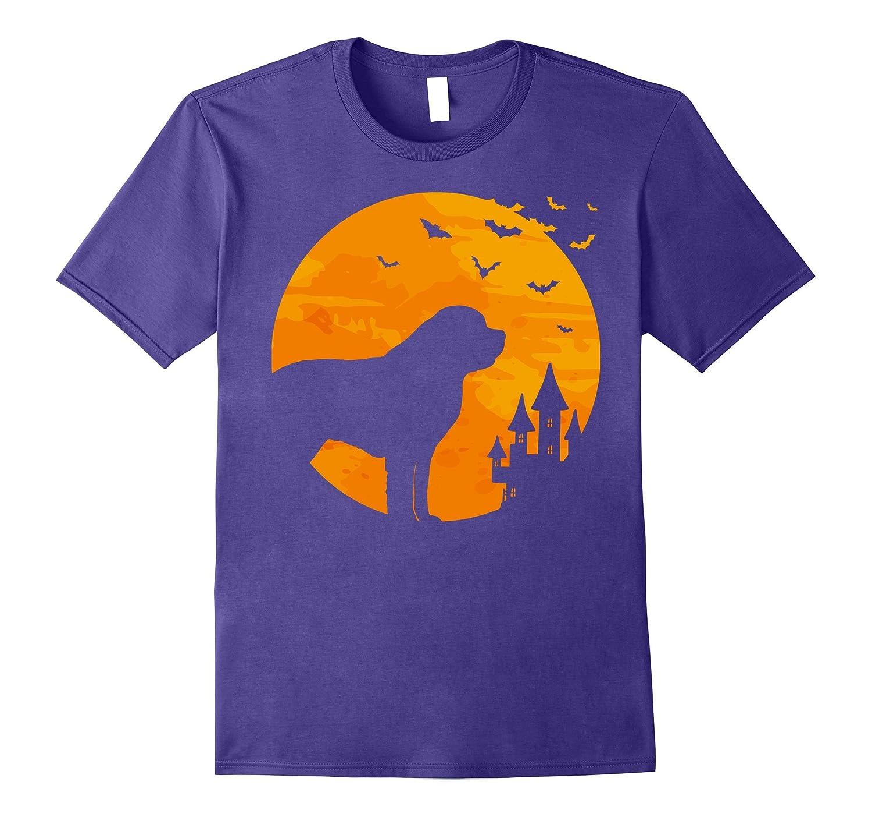 St Bernard Tee Scary Halloween T Shirt-FL