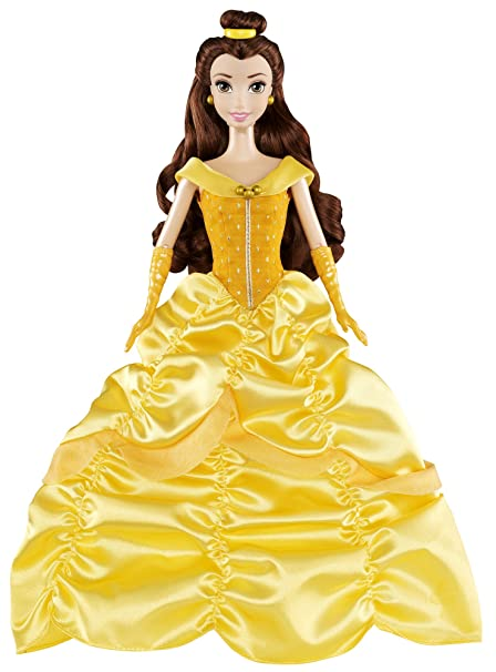 488de714b927 Buy Mattel Disney Princess Signature Classics Belle Doll Online at Low  Prices in India - Amazon.in