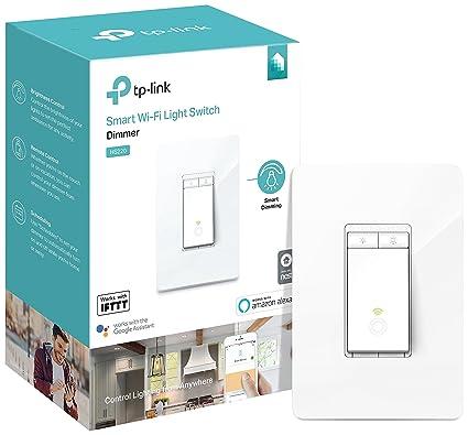 Kasa Smart Light Switch, Dimmer by TP-Link – WiFi Light Switch, Neutral on