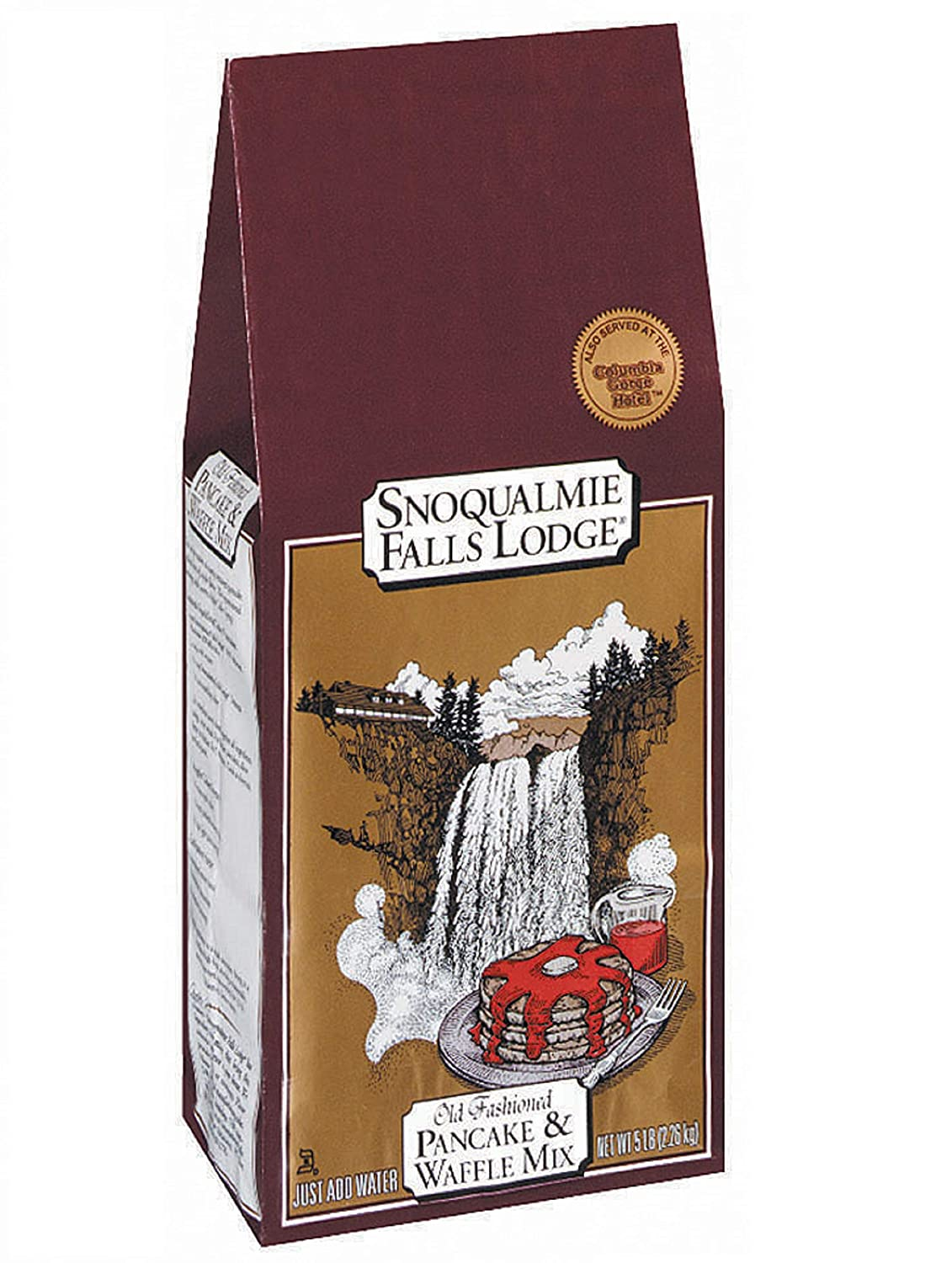 Snoqualmie Falls Lodge Old Fashioned Pancake & Waffle Mix ...