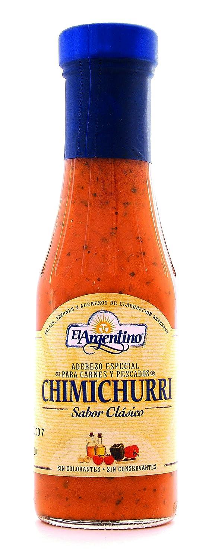 El Argentino Salsa Chimichurri - 295 gr: Amazon.es: Alimentación y bebidas