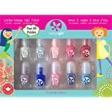 Suncoat Girl - 10 Pack Mini Nail Polish Gift Set for Girls (Flare and Fancy)