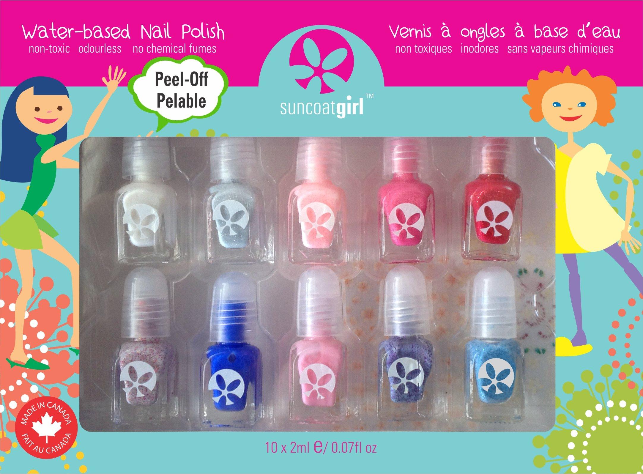 Amazon.com: Suncoat Product Inc. Non Toxic Peelable Children\'s Nail ...