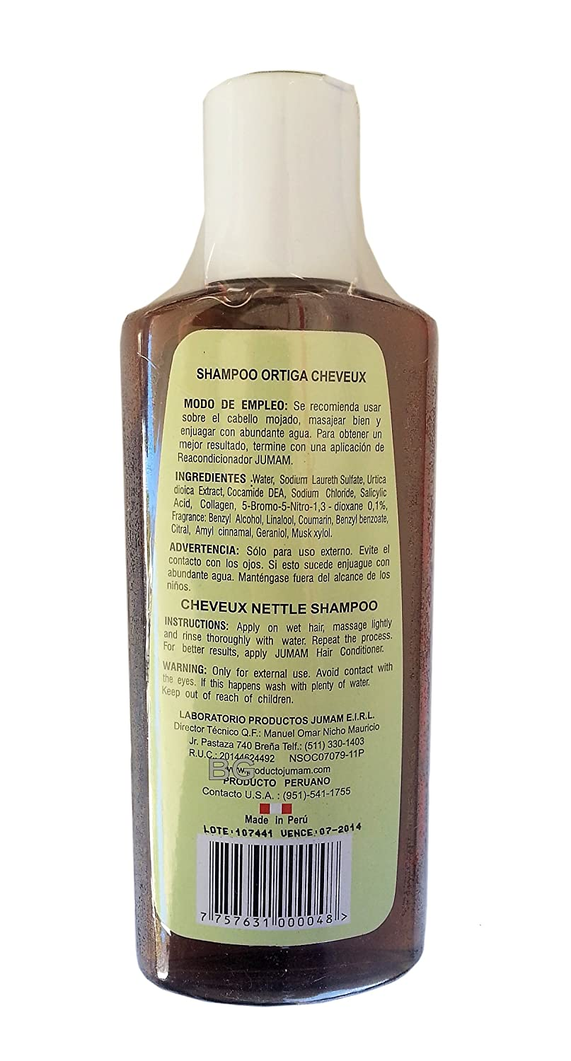 Amazon.com: Ortiga Hair Growth Shampoo From Nettle Plant 8.5oz. GL: Beauty