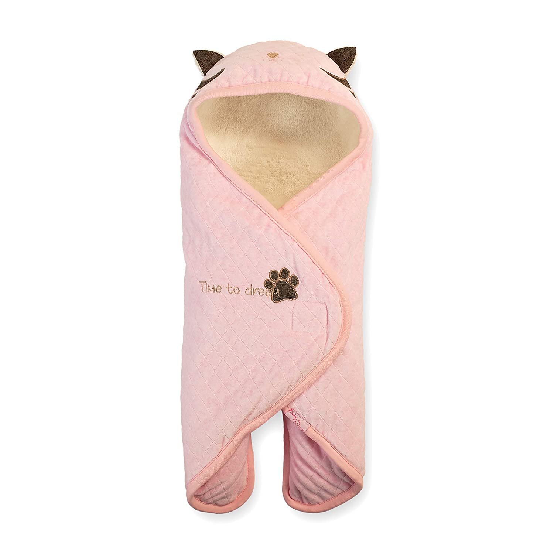geniale Baby-Geschenke zur Geburt oder Tauf-Geschenke Buutzi Einschlagdecke f/ür Maxi Cosi u Premium Baby-Schlafsack-Kuscheldecke Kinderwagen Baby Pucksack Grau