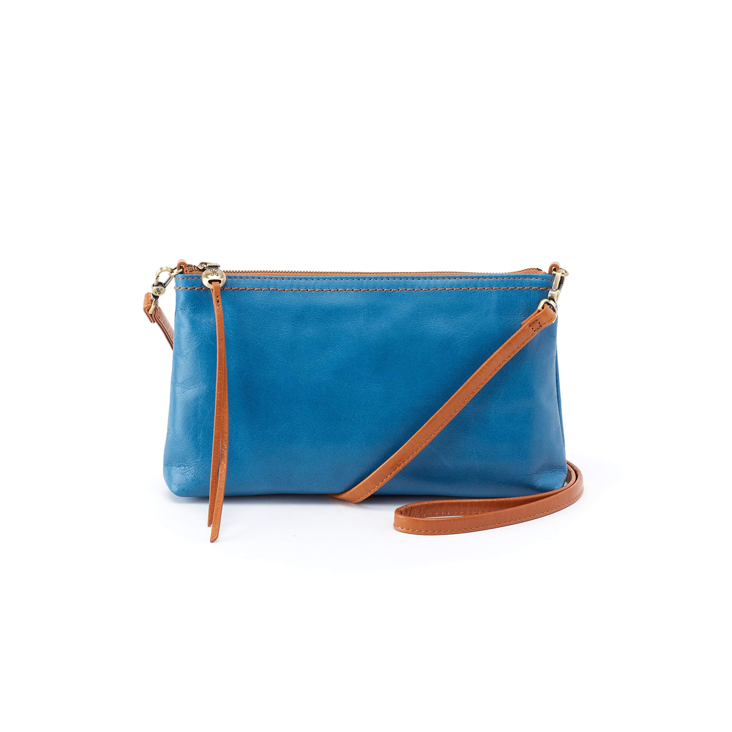Hobo Womens Leather Vintage Darcy Convertible Crossbody Bag (Bayou)