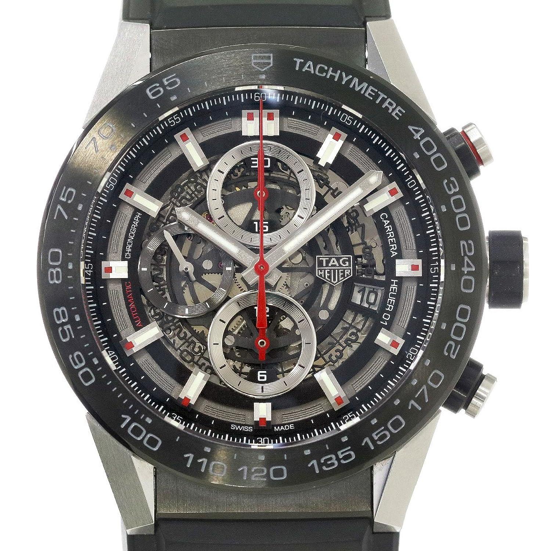 タグホイヤー TAG HEUER カレラ キャリバーホイヤー01 CAR2A1Z FT6044 メンズ 腕時計 クロノグラフ ウォッチ 【中古】 90046812 [並行輸入品] B07B62VKMF