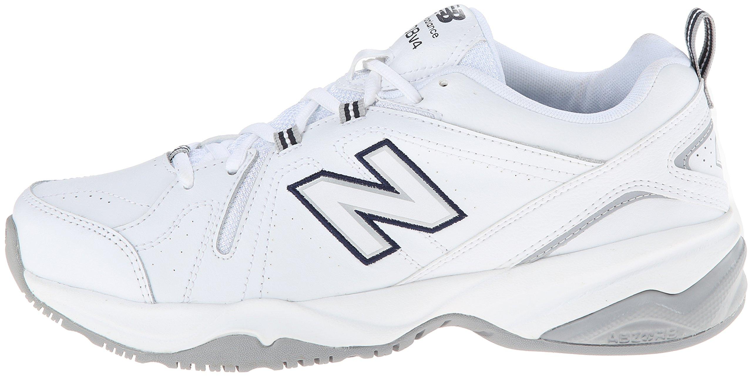 New Balance Women's WX608v4 Training Shoe, White/Navy, 8.5 D US by New Balance (Image #5)