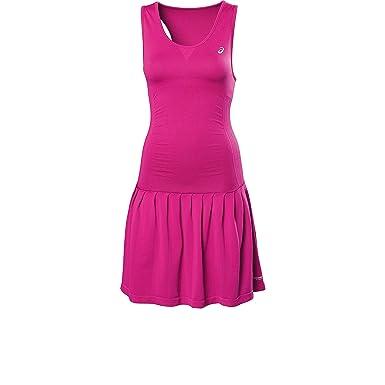 casual shoes hot sale online attractive price ASICS Performance Damen Tenniskleid rosa L: Amazon.de ...