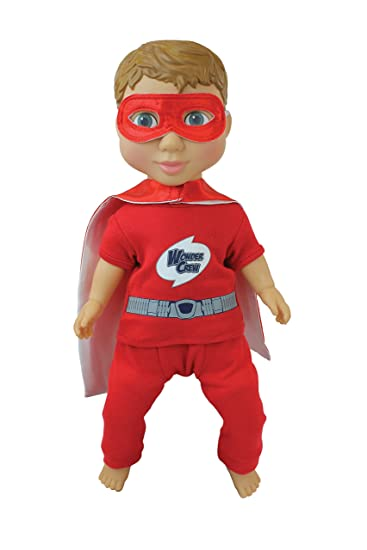 Baby Doll Clothes At Walmart Fascinating Amazon PlayMonster Wonder Crew Superhero Buddy Will Toys Games
