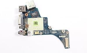 Latitude E6420 VGA USB RJ-45 Port IO for Intel Circuit Boards PAL50 157H2 0157H2 CN-0157H2 LS-659CP