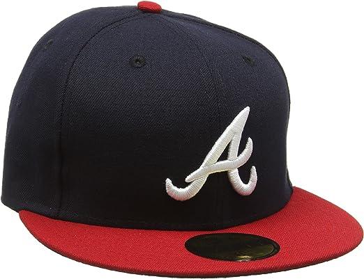 A NEW ERA Era 5950 Tsf Atlanta Braves Hm Gorra, Hombre, 8 0/0 ...