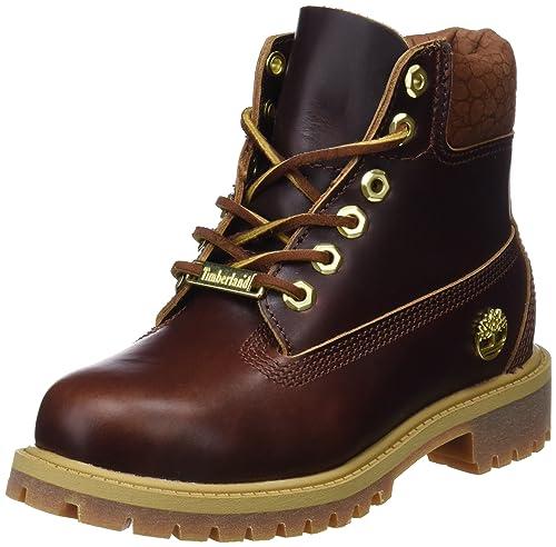 fc94cf388d4c Timberland Unisex Kids  6 Inch Premium Waterproof Classic Boots, Yellow  (Wheat Quartz Exotic