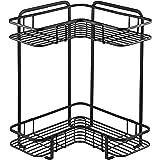 パール金属 L型コーナーラック ブラック 2段 幅36.0×奥行26.0×高さ36.0cm キッチン 収納 棚 BLKP AZ-5058