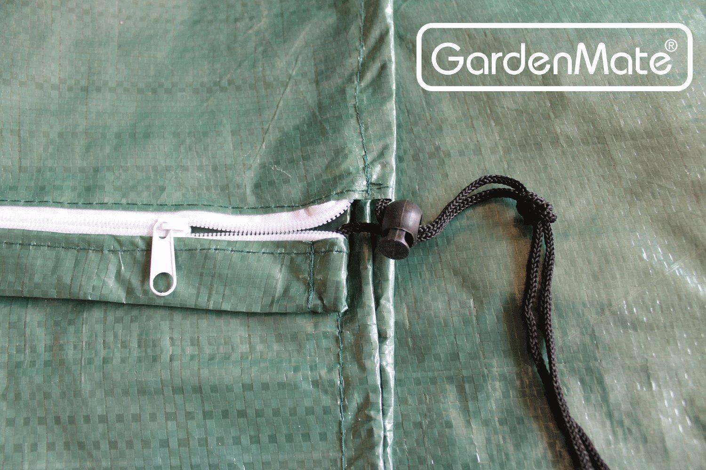 Altura 150 cm /Ø 25 cm Tejido PE de 120 gsm GardenMate Funda Protectora para sombrillas y tendederos