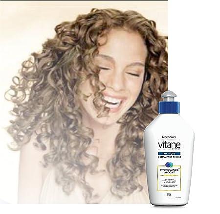 Vitane-Crema para peinar cabellos rizos Nutricion y disciplina para el cabello. Anti breakage/ smooth hair,...