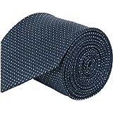 Barata Formal Broad Ties For Men, Navy Blue Tie