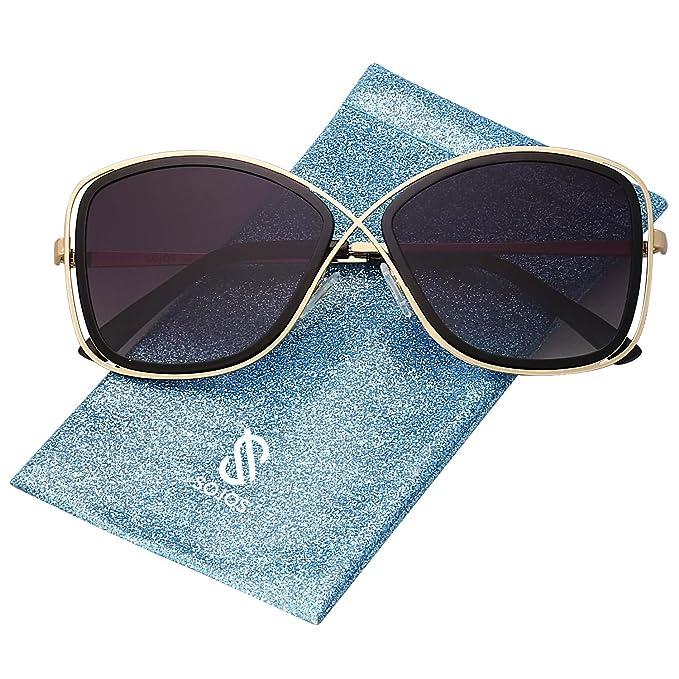Amazon.com: SOJOS - Gafas de sol polarizadas para mujer ...