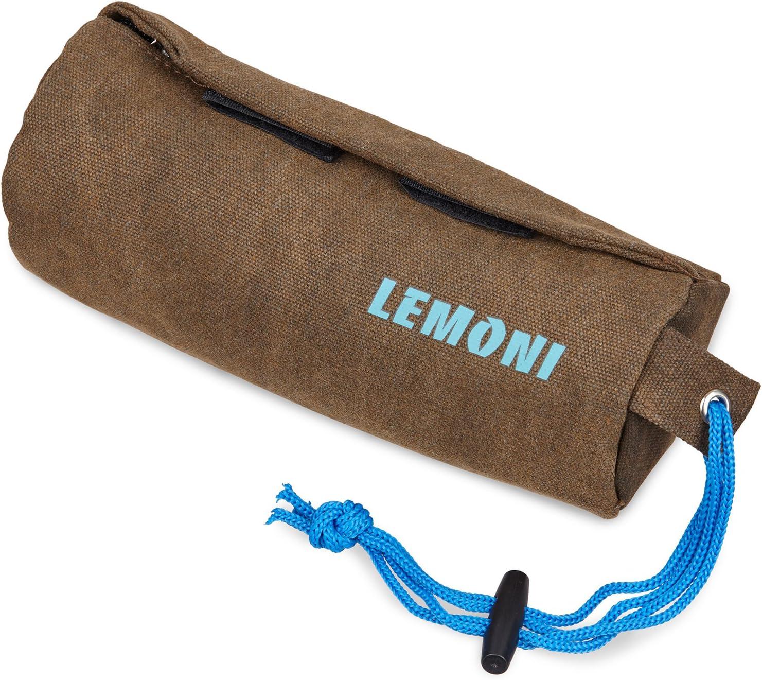 LEMONI Portapremios, Bolsa de Entrenamiento para Perros, Bolsa para chuches | Ideal para Entrenar el atrapar
