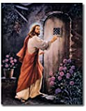 Jesus Knocking On Your Door # 2 Religious Wall Picture Art Print