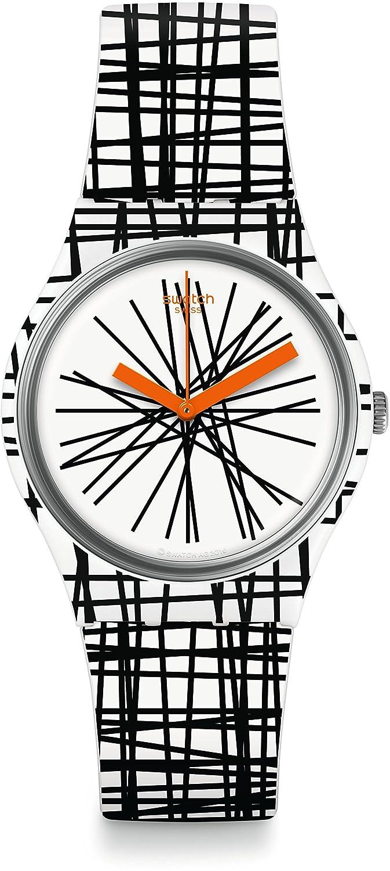 [スウォッチ]SWATCH 腕時計 Gent(ジェント) LACE ME(レースミー) GW183【正規輸入品】 B06XDCBYR6