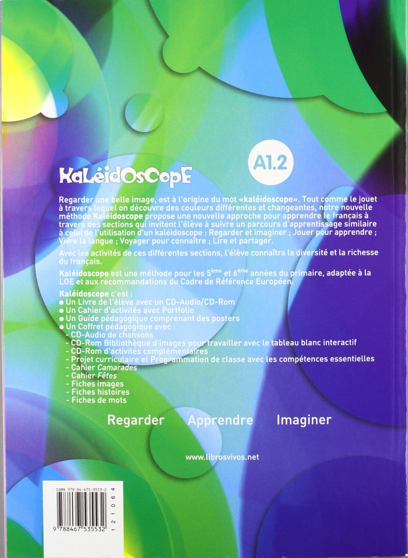 Kaleidoscope 2. Livre de l'élève - 9788467535532: Amazon.es: Equipo de  Idiomas de Ediciones SM: Libros en idiomas extranjeros