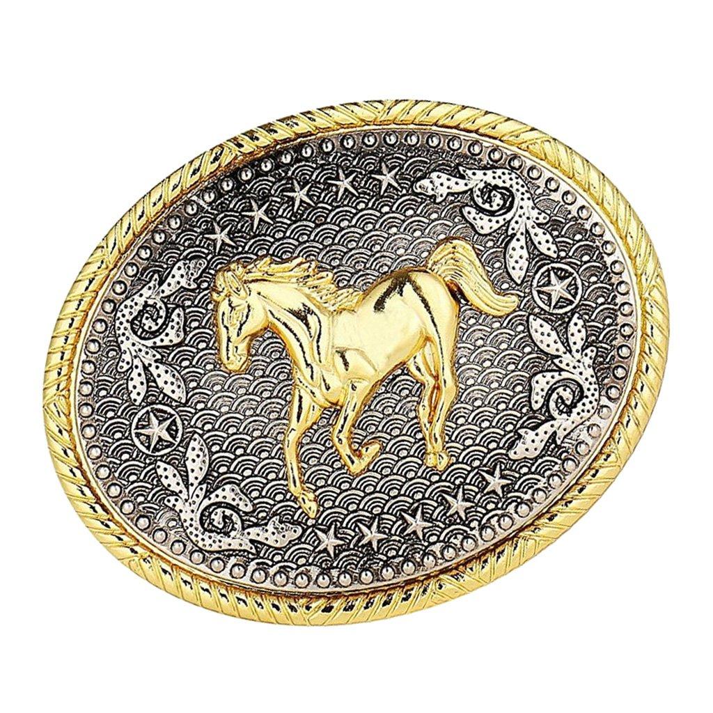 Fibbia della Cintura di Western Cowboy Accessori di Cucito di Artigianato