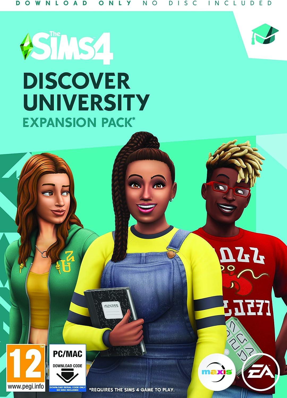 The Sims 4 Discover University (PC Code in Box) [Importación inglesa]: Amazon.es: Videojuegos