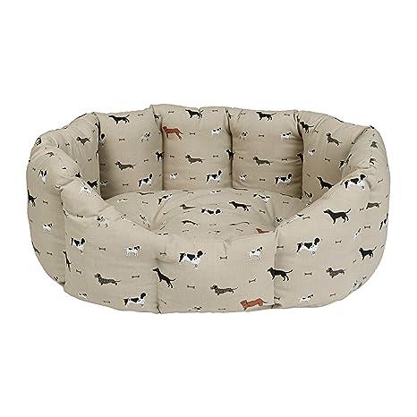 Sophie Allport mascota cama Woof diseño – 3 tamaños