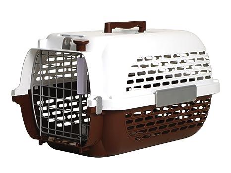 Dogit Transportín para Perros, Talla Extra-Grande, Marrón/Blanco, 66 x